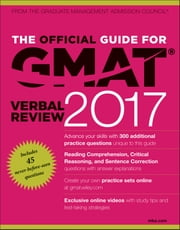 The Official Guide for GMAT Verbal Review 2017 with Online Question Bank and Exclusive Video ebook by Kobo.Web.Store.Products.Fields.ContributorFieldViewModel