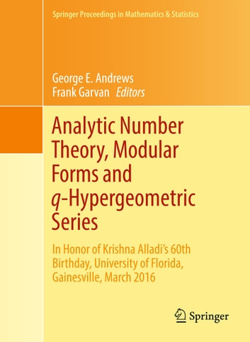 Analytic Number Theory, Modular Forms and q-Hypergeometric Series