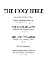 The Douay Rheims Version Holy Bible ebook by Richard Challoner (translator)