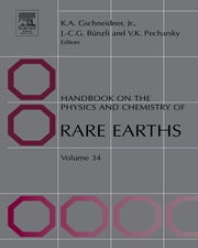 Handbook on the Physics and Chemistry of Rare Earths ebook by Karl A. Gschneidner,Jean-Claude G. Bünzli,Vitalij K. Pecharsky
