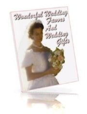 Wonderful Wedding Favors And Wedding Gifts ebook by Maria Vowell