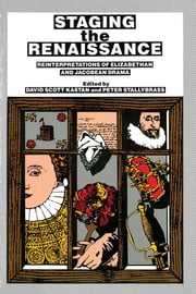 Staging the Renaissance ebook by David Scott Kastan,Peter Stallybrass