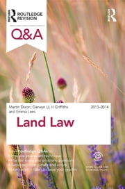 Q&A Land Law 2013-2014 ebook by Emma Lees,Martin Dixon