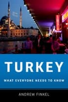 Turkey ebook by Andrew Finkel