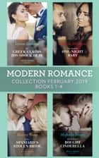 Modern Romance February Books 1-4: The Greek Claims His Shock Heir / The Venetian One-Night Baby / The Spaniard's Stolen Bride / The Sicilian's Bought Cinderella 電子書 by Lynne Graham, Melanie Milburne, Maisey Yates,...