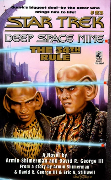 Ds9 #23 The 34th Rule ebook by Armin Shimerman