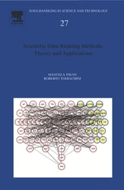 Scientific Data Ranking Methods - Theory and Applications ebook by Manuela Pavan,Roberto Todeschini