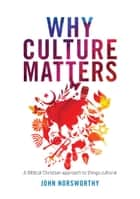 Why Culture Matters - A biblical Christian approach to things cultural ebook by John Norsworthy