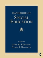 Handbook of Special Education ebook by