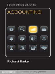 Short Introduction to Accounting ebook by Richard Barker