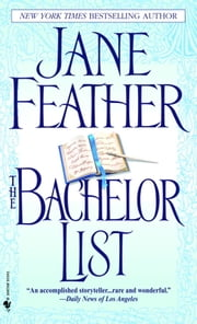 The Bachelor List ebook by Jane Feather