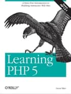 Learning PHP 5 ebook by David Sklar