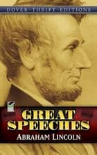 Great Speeches ebook by Bob Blaisdell