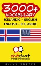 3000+ Vocabulary Icelandic - English ebook by Gilad Soffer