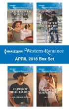 Harlequin Western Romance March 2018 Box Set - Twins for the Rancher\The Right Cowboy\Rodeo Legends: Shane\A Home with the Rancher ebook by Trish Milburn, Rebecca Winters, Pamela Britton,...