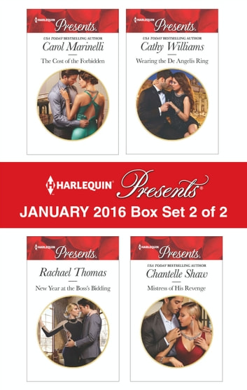 Harlequin Presents January 2016 - Box Set 2 of 2 - An Anthology ebook by Carol Marinelli,Rachael Thomas,Cathy Williams,Chantelle Shaw