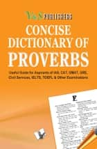Concise Dictionary of Proverbs ebook by EDITORIAL BOARD