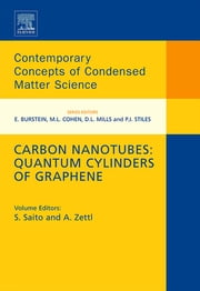 Carbon Nanotubes: Quantum Cylinders of Graphene ebook by Susumo Saito,Alex Zettl