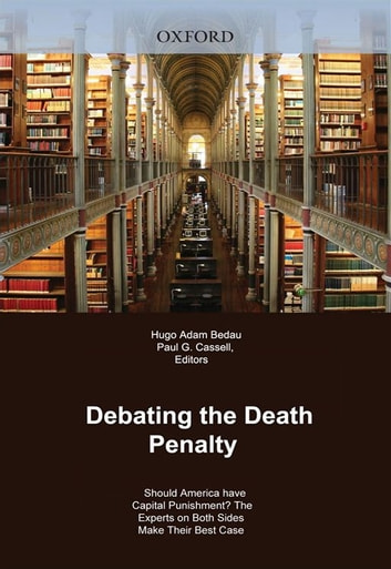 hugo adam bedau capital punishment essay End) was also present at this same execution and would later write the essay  going to  hugo adam bedau, general introduction to the death penalty  in.