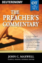 Deuteronomy (The Preacher's Commentary) - Deuteronomy ebook by John C. Maxwell