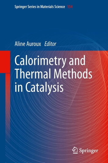 Calorimetry and Thermal Methods in Catalysis ebook by