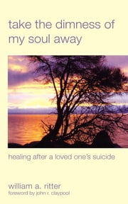 Take the Dimness of My Soul Away - Healing After a Loved One's Suicide ebook by William A. Ritter