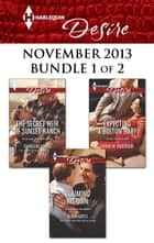 Harlequin Desire November 2013 - Bundle 1 of 2 - An Anthology ebook by Charlene Sands, Olivia Gates, Sarah M. Anderson