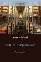 Cultures in Organizations - Three Perspectives ebook by Joanne Martin