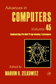 Advances in Computers ebook by Zelkowitz, Marvin