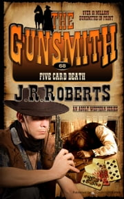 Five Card Death ebook by J.R. Roberts