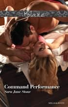 Command Performance ebook by Sara Jane Stone