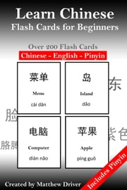 Learn Chinese: Flash Cards for Beginners ebook by Matthew Driver