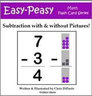Subtraction - With & Without Pictures! ebook by Chris DiPaolo