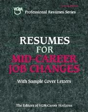 Resumes for Mid-Career Job Changes ebook by Kobo.Web.Store.Products.Fields.ContributorFieldViewModel