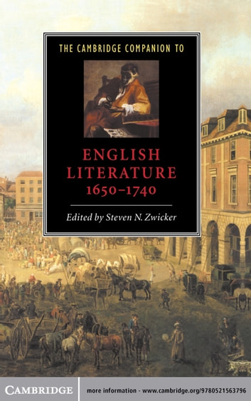 The Cambridge Companion to English Literature, 1650–1740 eBook by