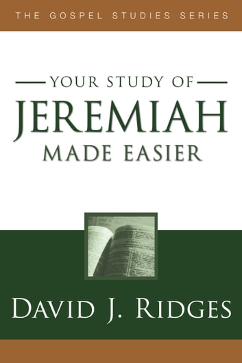 Jeremiah Made Easier ebook by David J. Ridges
