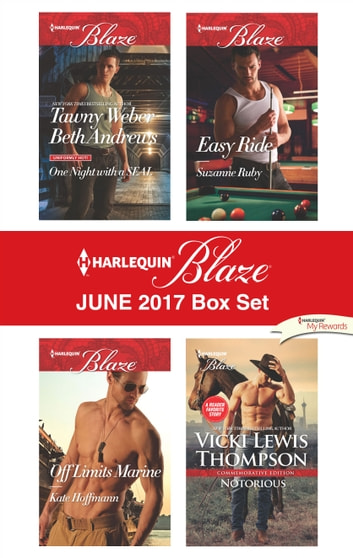 Harlequin Blaze June 2017 Box Set - An Anthology ekitaplar by Kate Hoffmann,Suzanne Ruby,Vicki Lewis Thompson