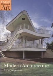 Modern Architecture ebook by Alan Colquhoun