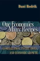 One Economics, Many Recipes ebook by Dani Rodrik