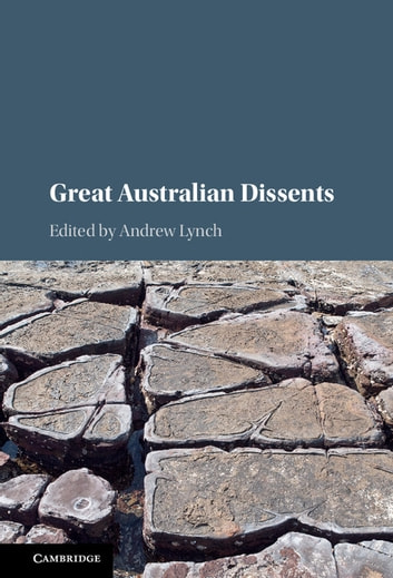 Great Australian Dissents ebook by