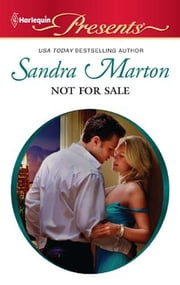 Not For Sale ebook by Sandra Marton