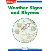 Weather Signs and Rhymes Audiolibro by Shirley Lalonde
