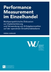 Performance Measurement im Einzelhandel ebook by Verena Harrauer