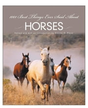 1001 Best Things Ever Said About Horses ebook by Steven Price