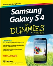 Samsung Galaxy S 4 For Dummies ebook by Bill Hughes