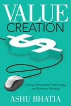 Value Creation ebook by Ashu Bhatia
