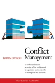 Conflict Management ebook by Baden Eunson