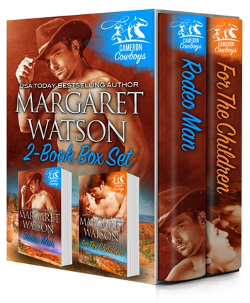 Cameron Cowboys Bundle (Rodeo Man, For the Children) ebook by Margaret Watson