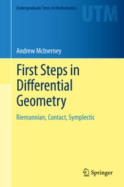 First Steps in Differential Geometry - Riemannian, Contact, Symplectic ebook by Andrew McInerney
