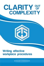 Clarity Out of Complexity ebook by Rosemary O'Donoghue